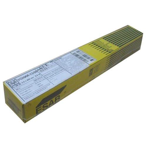 Электроды для ручной дуговой сварки ESAB УОНИИ 13/55 5мм 6кг электроды для ручной дуговой сварки wester уонии 13 55 3мм 1кг