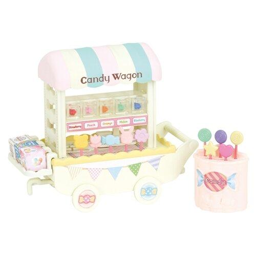 Купить Игровой набор Sylvanian Families Тележка с конфетами 5266, Игровые наборы и фигурки