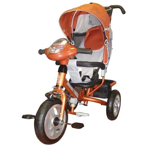 Купить Трехколесный велосипед Funny Jaguar MS-0637 IC Lexus Racer Trike Air оранжевый, Трехколесные велосипеды
