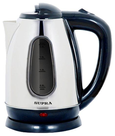 Купить товар Чайник SUPRA KES-1833, серебристый по низкой цене с ... 869957efbbb