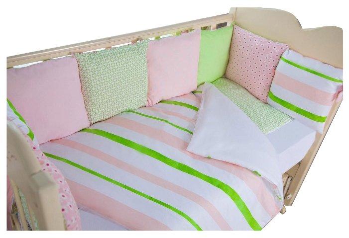 ByTWINZ комплект в кроватку Глория (6 предметов)