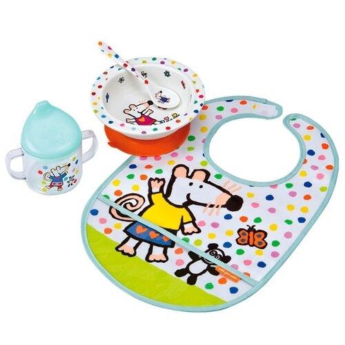 Фото - Комплект посуды Petit Jour Paris Mimi (MM910), белый посуда petit jour набор детской посуды barbapapa ba964c