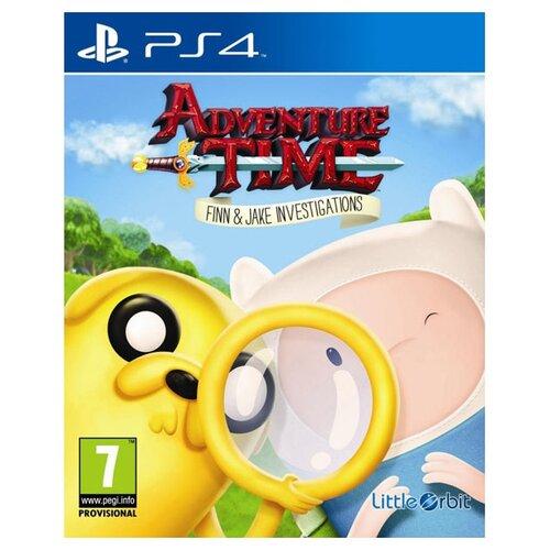 Игра для PlayStation 4 Adventure Time: Finn and Jake Investigations поло print bar adventure jake