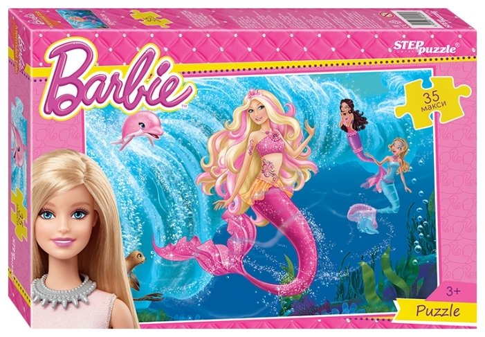 Пазл Step puzzle Mattel Барби (91220), 35 дет.