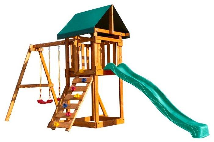 Спортивно-игровой комплекс Babygarden со скалолазкой и горкой 2.4 м