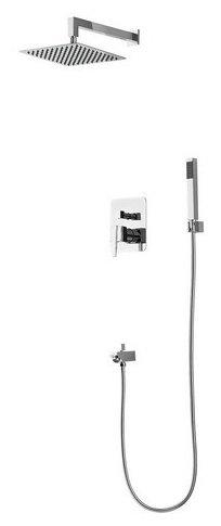 Верхний душ встраиваемый RGW SP-54 (хром) хром