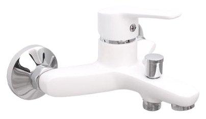 Смеситель для ванны с душем Rubineta Uno-10 (WT) однорычажный