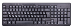Клавиатура Ritmix RKB-255W Black USB