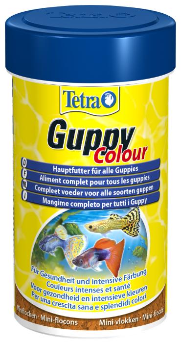 Сухой корм Tetra Guppy Colour для рыб