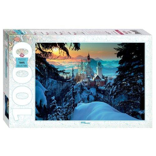 Купить Пазл Step puzzle Travel Collection Бавария Замок Нойшванштайн (79103), 1000 дет., Пазлы