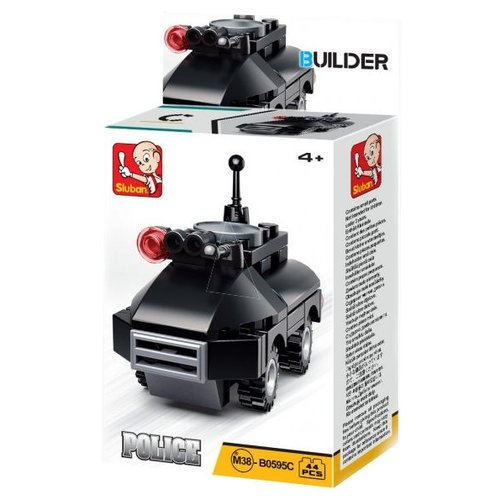 Купить Конструктор SLUBAN Builder M38-B0595C Броневик, Конструкторы
