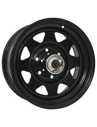 Диск Trebl Off-road 01 8x15/6x139,7 ЕТ-16 D108,7 Black - фото 1