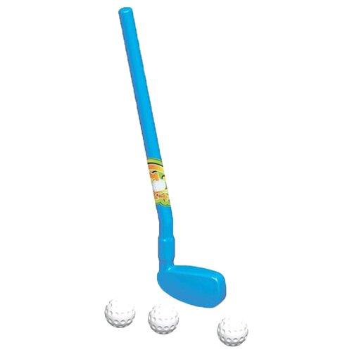 Купить Игровой набор Dolu гольф-клюшка и три мячика (DL_6012), Спортивные игры и игрушки