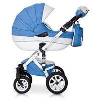 Универсальная коляска Riko Brano Ecco (3 в 1) 16 sky blue