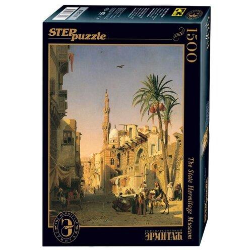 Купить Пазл Step puzzle Русские музеи Улица Эзбикия в Каире (83207), 1500 дет., Пазлы