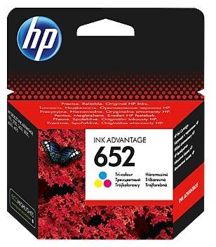 Картридж HP 652 F6V24AE Tri-colour для Deskjet Ink Advantage 1115/2135/3635/3835/4535/4675
