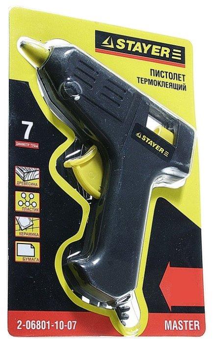 Клеевой пистолет STAYER 2-06801-10-07