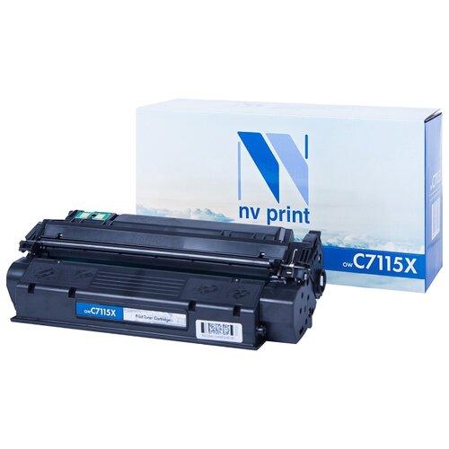 Фото - Картридж NV Print С7115X для HP, совместимый картридж nv print q7581a для hp