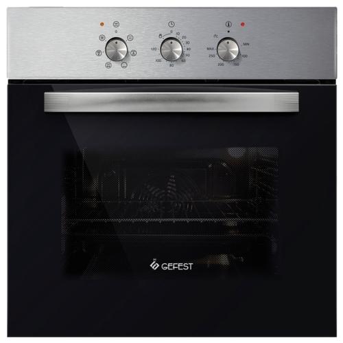 Духовой шкаф Электрический GEFEST ЭДВ ДА 602-01 Н1 черный /серебристый