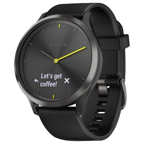 Купить Часы Garmin Vivomove HR Sport черный