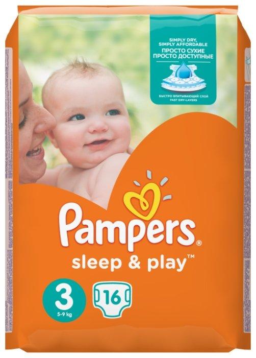 Pampers подгузники Sleep