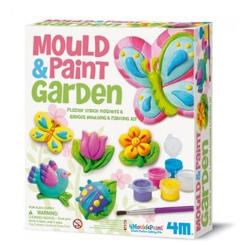4M Mould and Paint - Garden (00-03512)