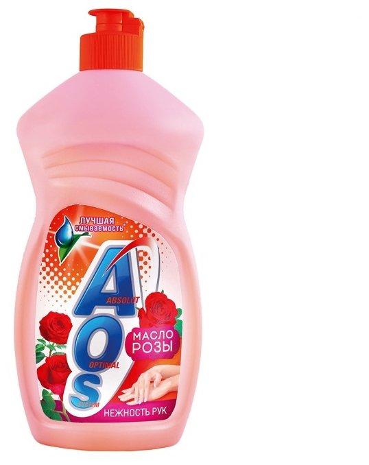 AOS Средство для мытья посуды Масло розы