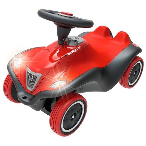 Каталка-толокар BIG Bobby Car NEXT (56230) со звуковыми эффектами красный big машинка big bobby car racer