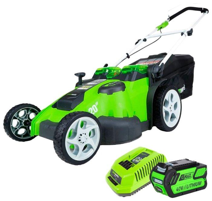Greenworks 2500207vb G40LM49DBK4