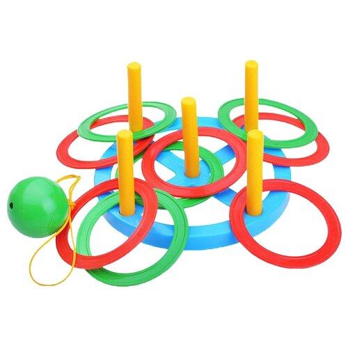 Купить Игровой набор Пластмастер Кольцеброс + Поймай шарик (40010), Спортивные игры и игрушки
