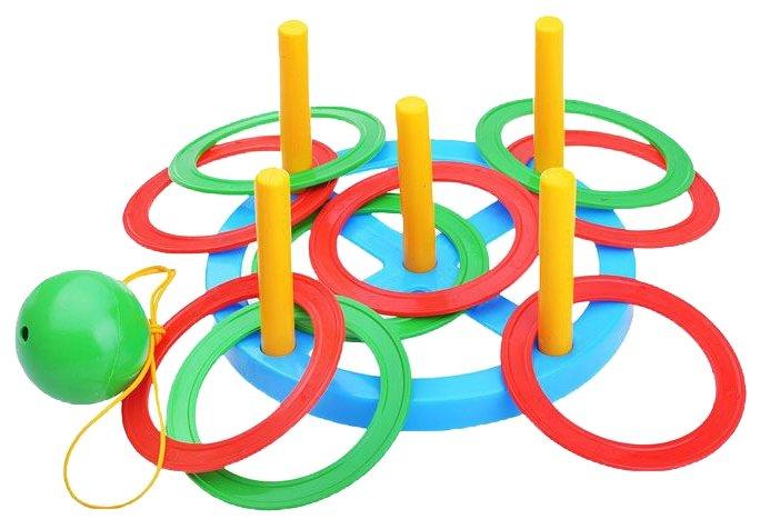 Игровой набор Пластмастер Кольцеброс + Поймай шарик (40010)