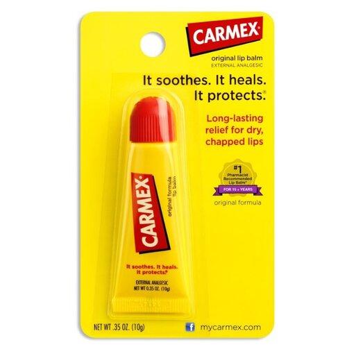 Carmex Бальзам для губ Original tube мятный бальзам для губ carmex