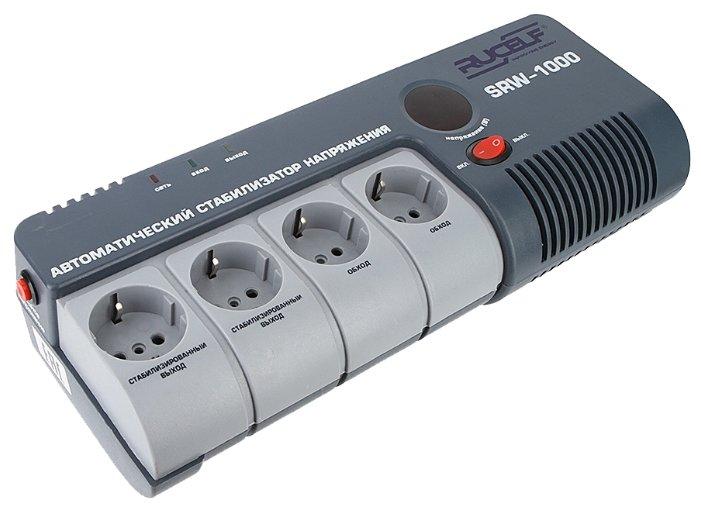 Стабилизатор напряжения однофазный RUCELF SRW-1000 (0.9 кВт)