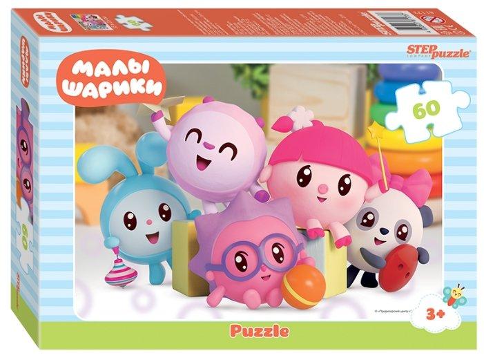 Пазл Step puzzle Мармелад Медиа Малышарики (81173) , элементов: 60 шт.