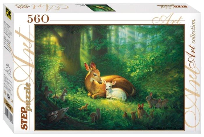 Пазл Step puzzle В лесу (78074), 560 дет.
