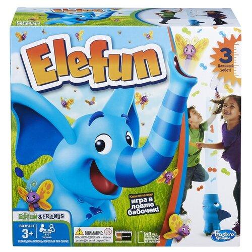 Настольная игра Hasbro Игры Слоник Элефан (обновленная) B7714 игра забавный слоник game