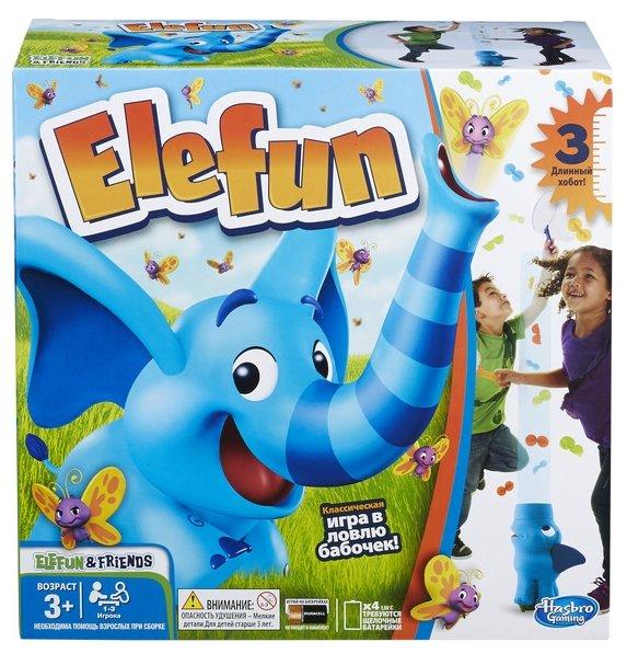 Настольная игра Hasbro games Слоник Элефан (обновленная) B7714
