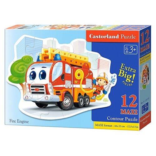 Купить Пазл Castorland Fire Engine (В-120109), 12 дет., Пазлы