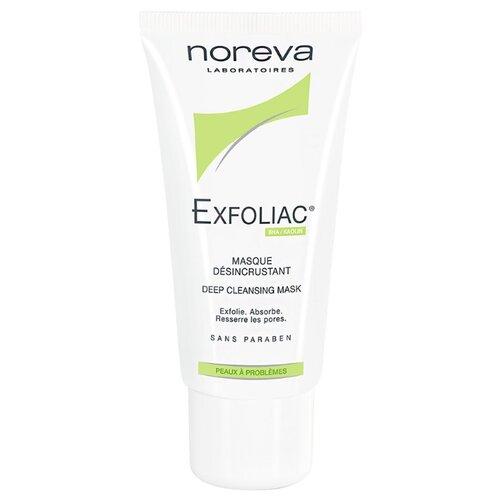 Noreva laboratories Exfoliac Маска Masque desincrustant, 50 мл noreva exfoliac lotion