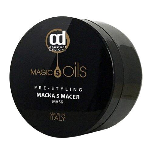 Constant Delight 5 MAGIC OILS Маска для всех типов волос, 500 мл constant delight масло для окрашивания волос olio colorante 5 02 каштановый натуральный пепельный 50 мл