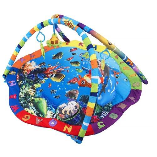 Купить Развивающий коврик Leader Kids Подводный мир (LK80701), Развивающие коврики