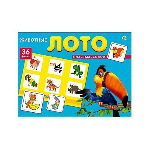 Купить Настольная игра Рыжий кот Лото Животные ИН-8081, Настольные игры