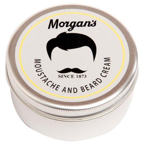 Morgan's Крем для бороды и усов Moustache & Beard Cream, 75 мл крем для усов и бороды moustache and beard cream 75мл