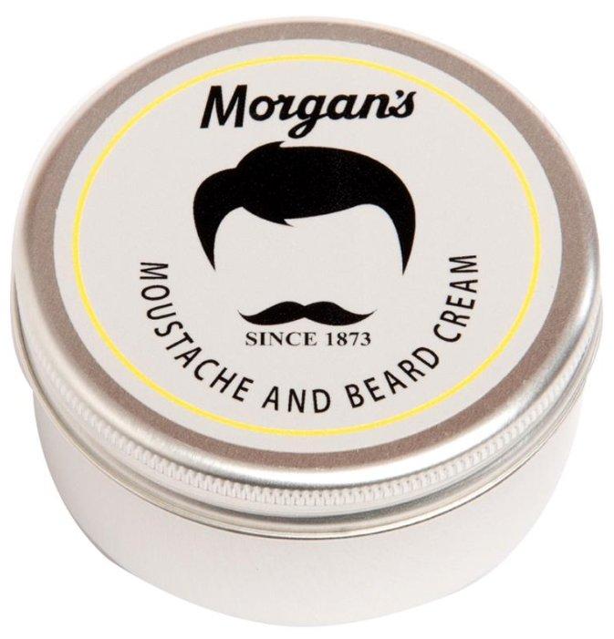 Morgan's Крем для бороды и усов Moustache & Beard Cream, 75 мл