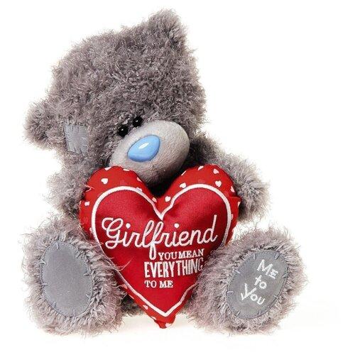 Купить Мягкая игрушка Me to you Мишка Тедди с сердцем Girlfriend you mean everything to me 25 см, Мягкие игрушки