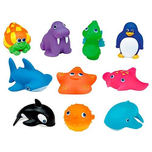 Купить Набор для ванной Munchkin Морские животные (12335) разноцветный, Игрушки для ванной