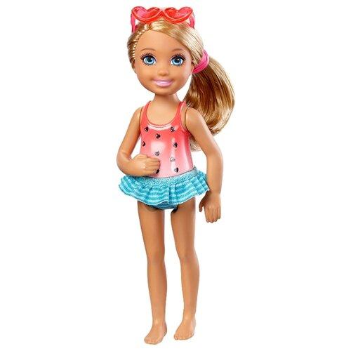 Кукла Barbie Клуб Челси Челси с напитком, 14 см, DWJ34
