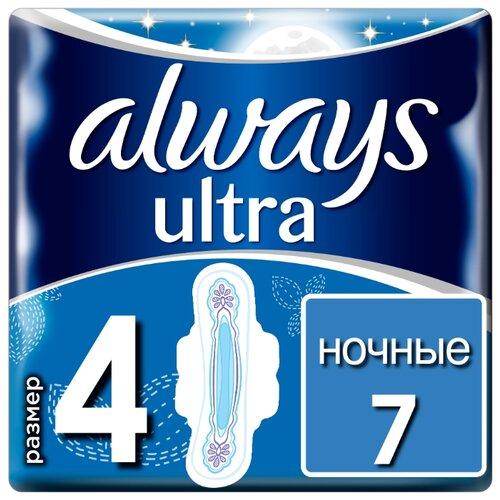 Always прокладки Ultra Night 7 шт.Прокладки и тампоны<br>