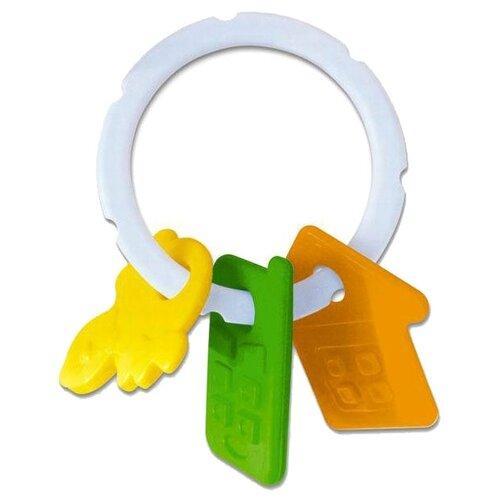 Купить Прорезыватель-погремушка Stellar Прорезыватель с погремушкой желтый/зеленый/оранжевый, Погремушки и прорезыватели