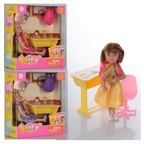 Кукла Defa Lucy Сайри школьница 10 см 8298